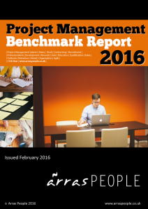 Arras People Project Management Benchmark Report